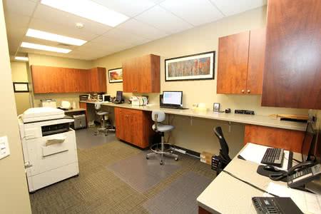 Premier S Custom Doctor S Office Desks Filing Systems Or