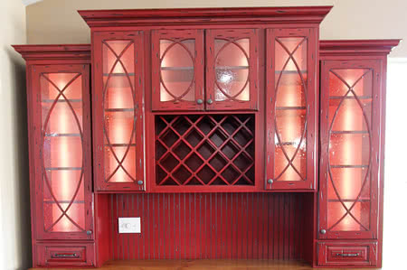 Light Up Interior Of Cabinets Hutch Or Entertainment